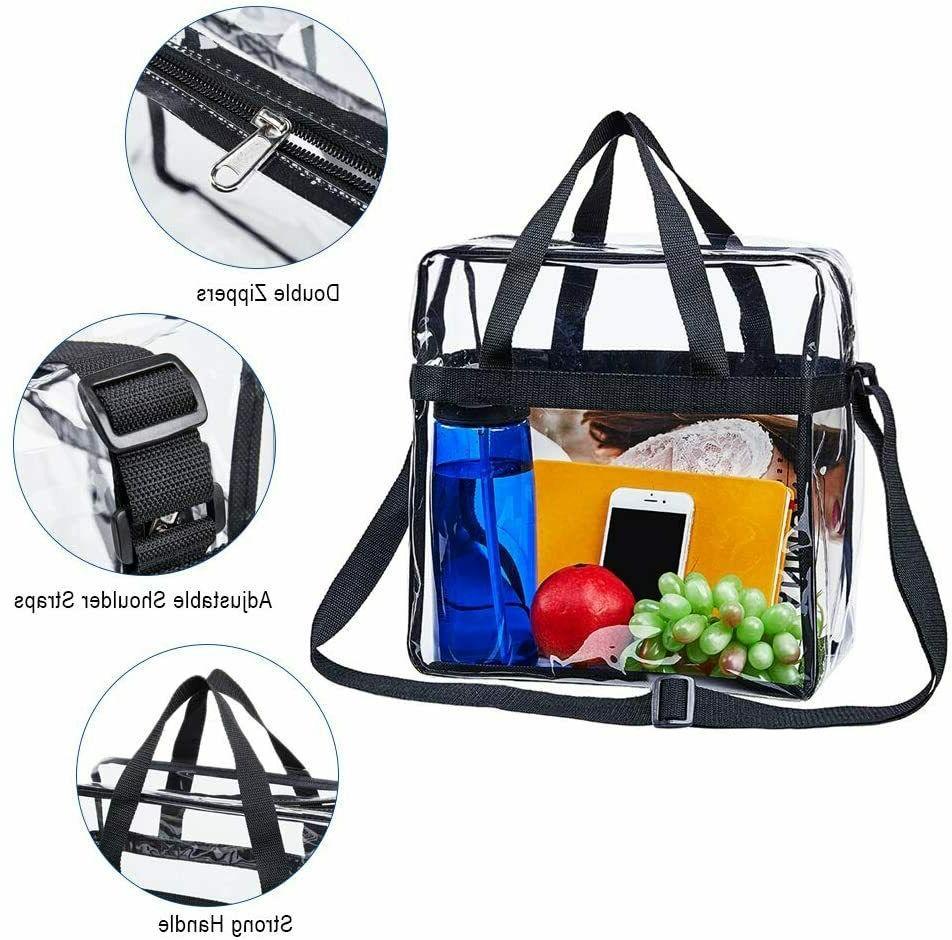 Clear Stadium Adjustable Strap Transparent Backpack