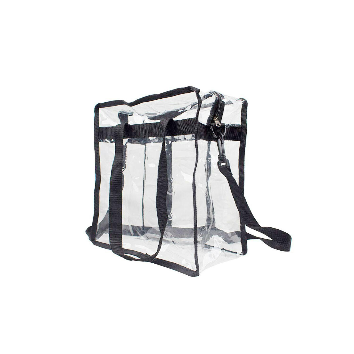 Clear Bag Straps Large Purse Strong Zippered