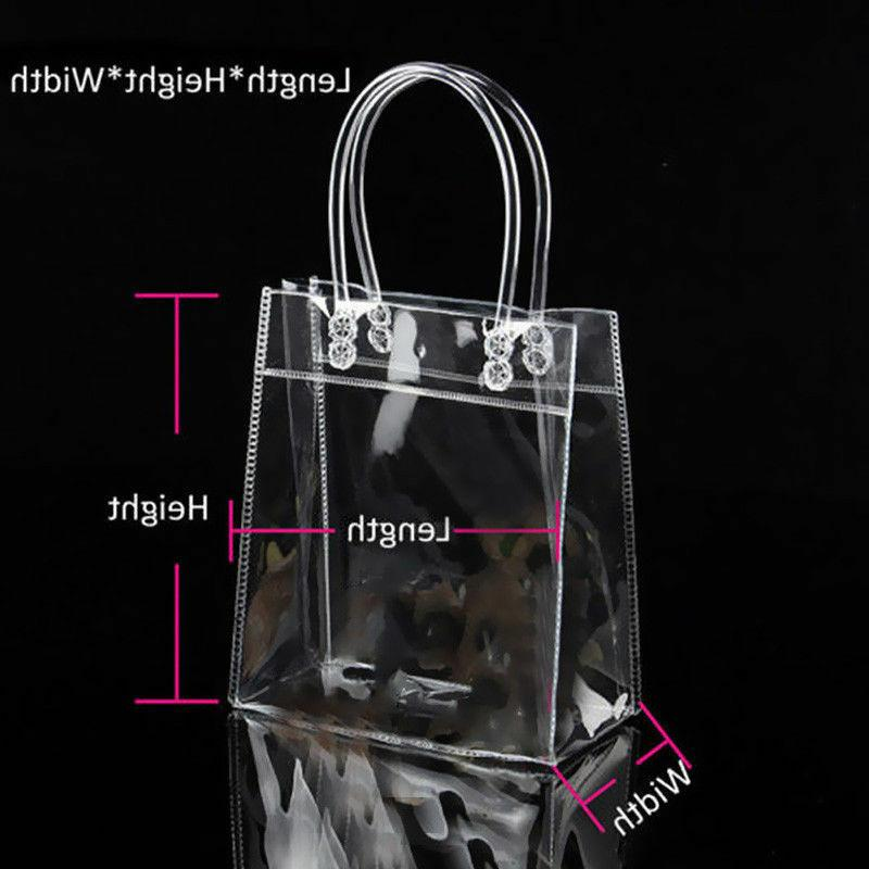 Clear Shoulder Handbag Transparent Plastic Beach Bag