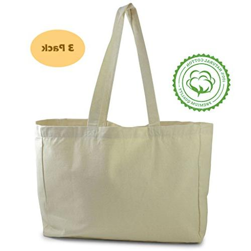 cotton canvas tote bag perfect