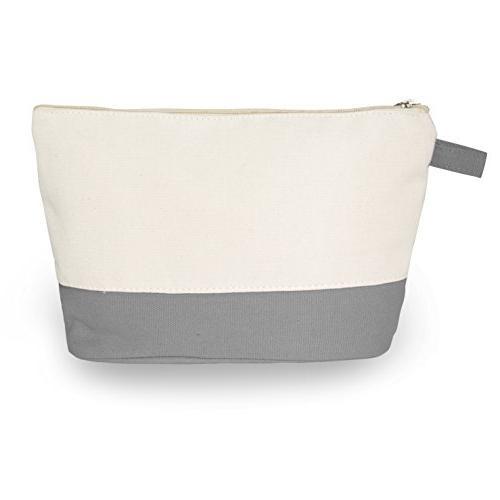 cotton canvas two tone bag
