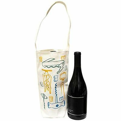 Cotton Canvas Wine Gift Tote Made The