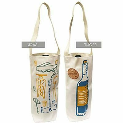 Cotton Grocery Canvas Gift Tote Made The