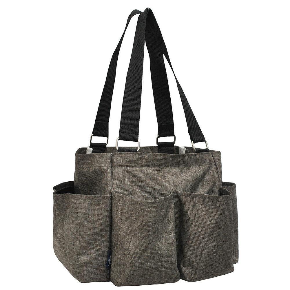 Crosshatch NGIL® Small Zippered Caddy Organizer Tote Bag