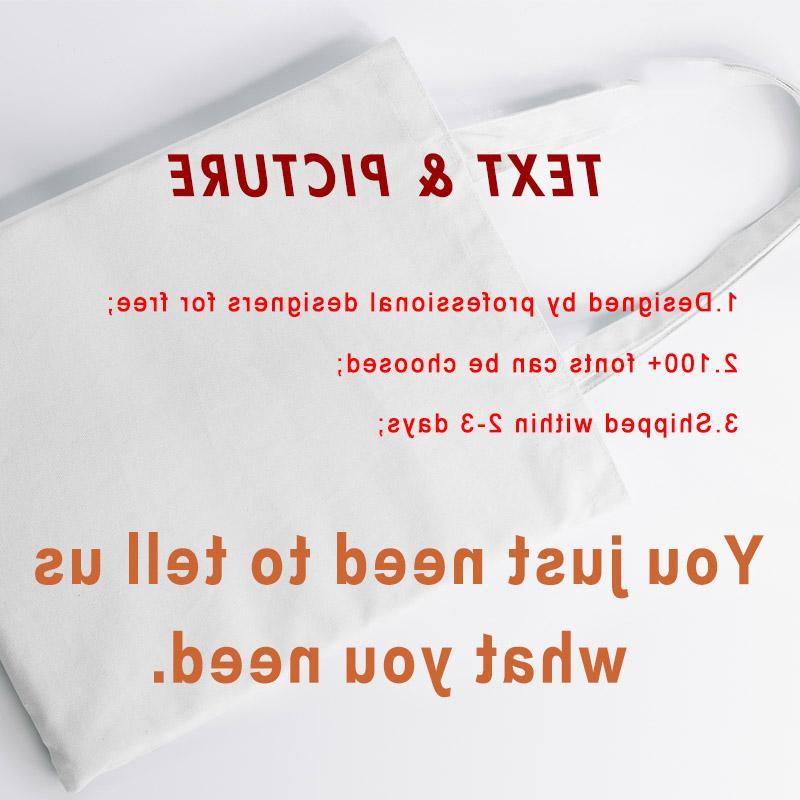 Custom Shopping Add Your Text Print Original Design White Unisex Fashion <font><b>Bags</b></font>
