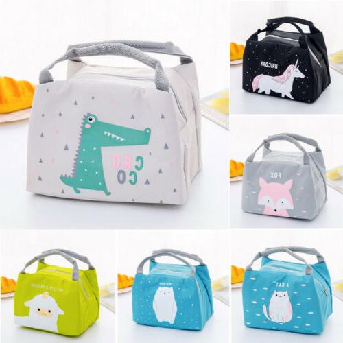 Cute Women Ladies Kids Bag Picnic Tote Cooler