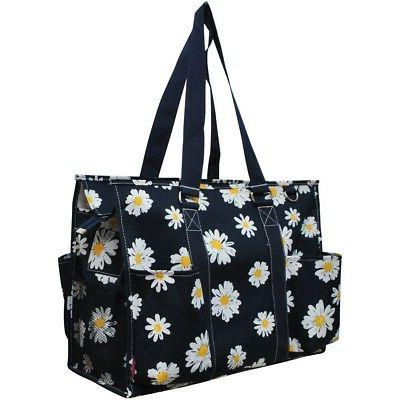 Daisy Large Caddy Tote Bag