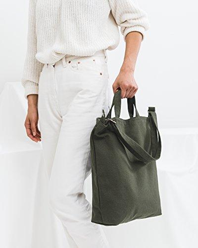 Tote, Essential Tote, Spacious and Roomy, Olive
