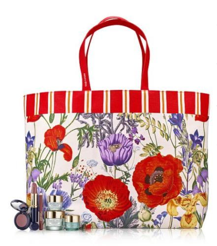 estee lauder summer vibes large tote bag
