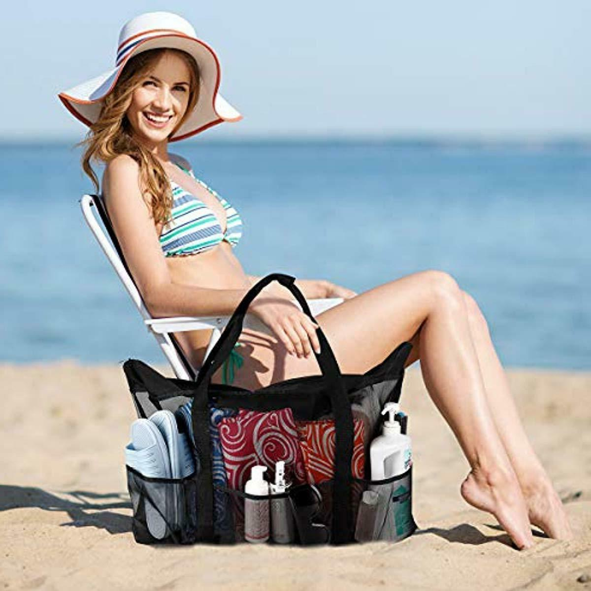 Extra and Totes Mesh Beach with Pockets