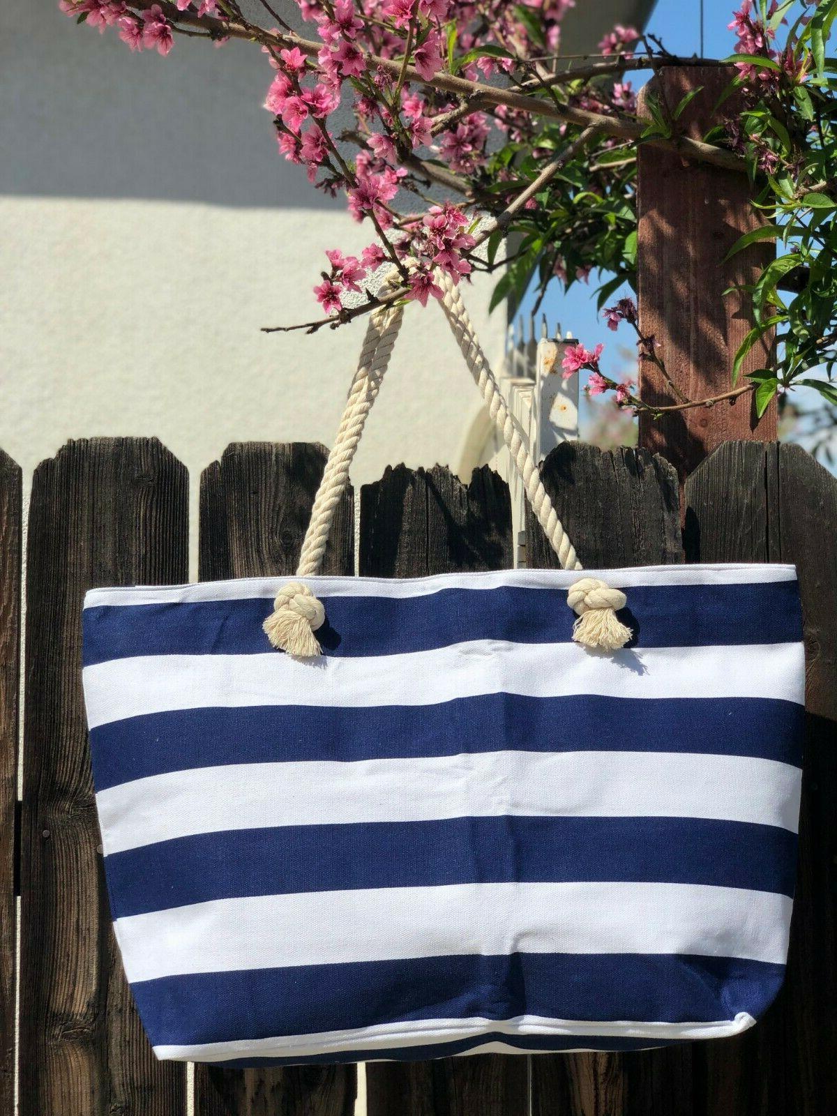 Extra Tote Bag-Beach Bag-Travel Navi and