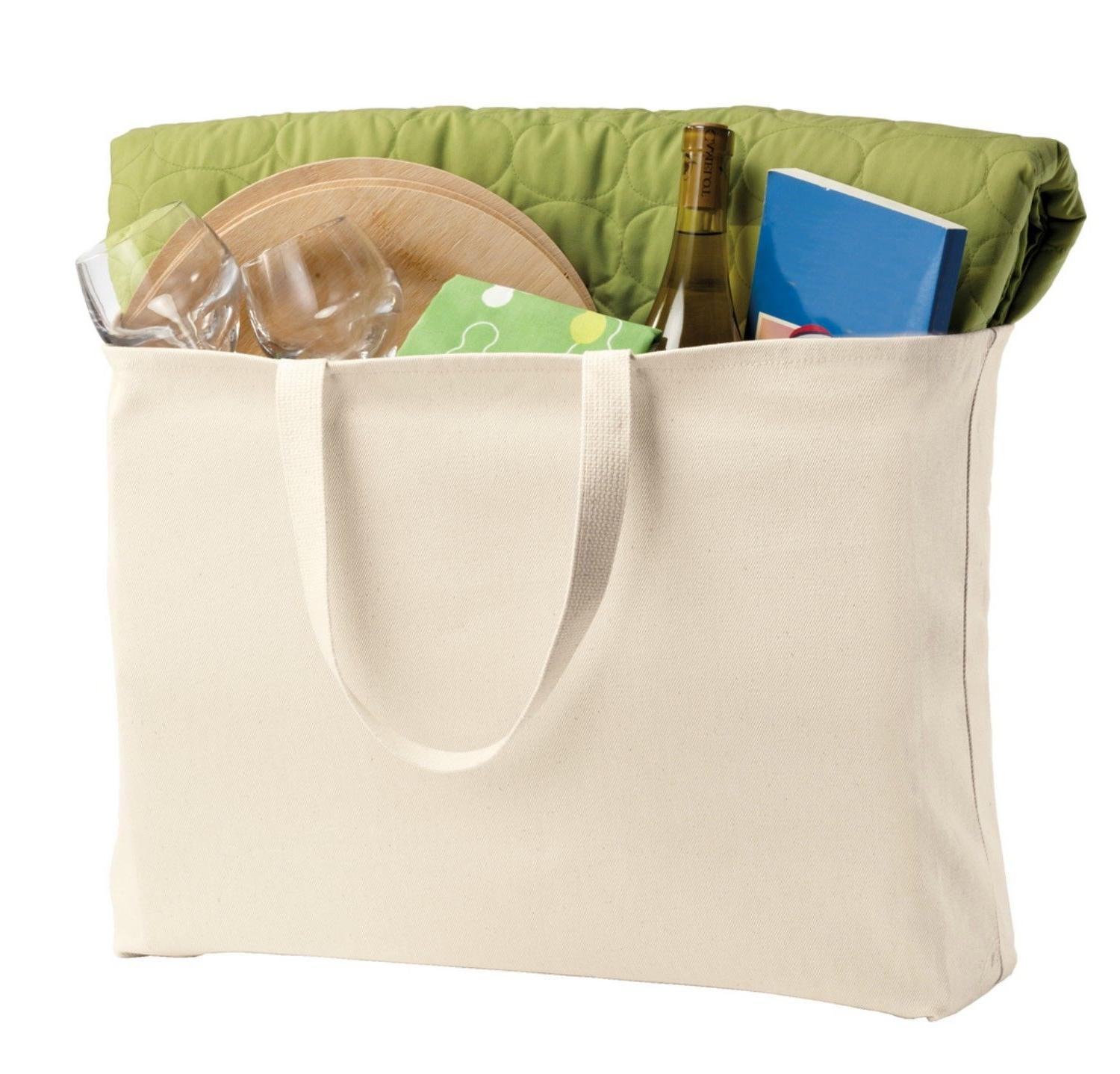 Extra Large Tote Bag Shopping Port