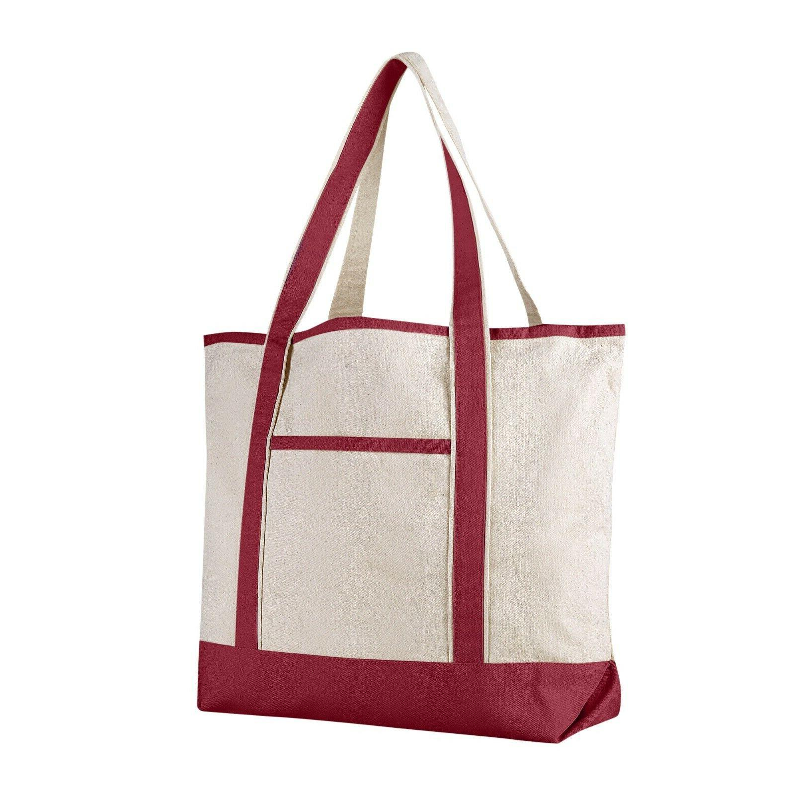 Extra Large Canvas Tote Bag, for Beach, Work
