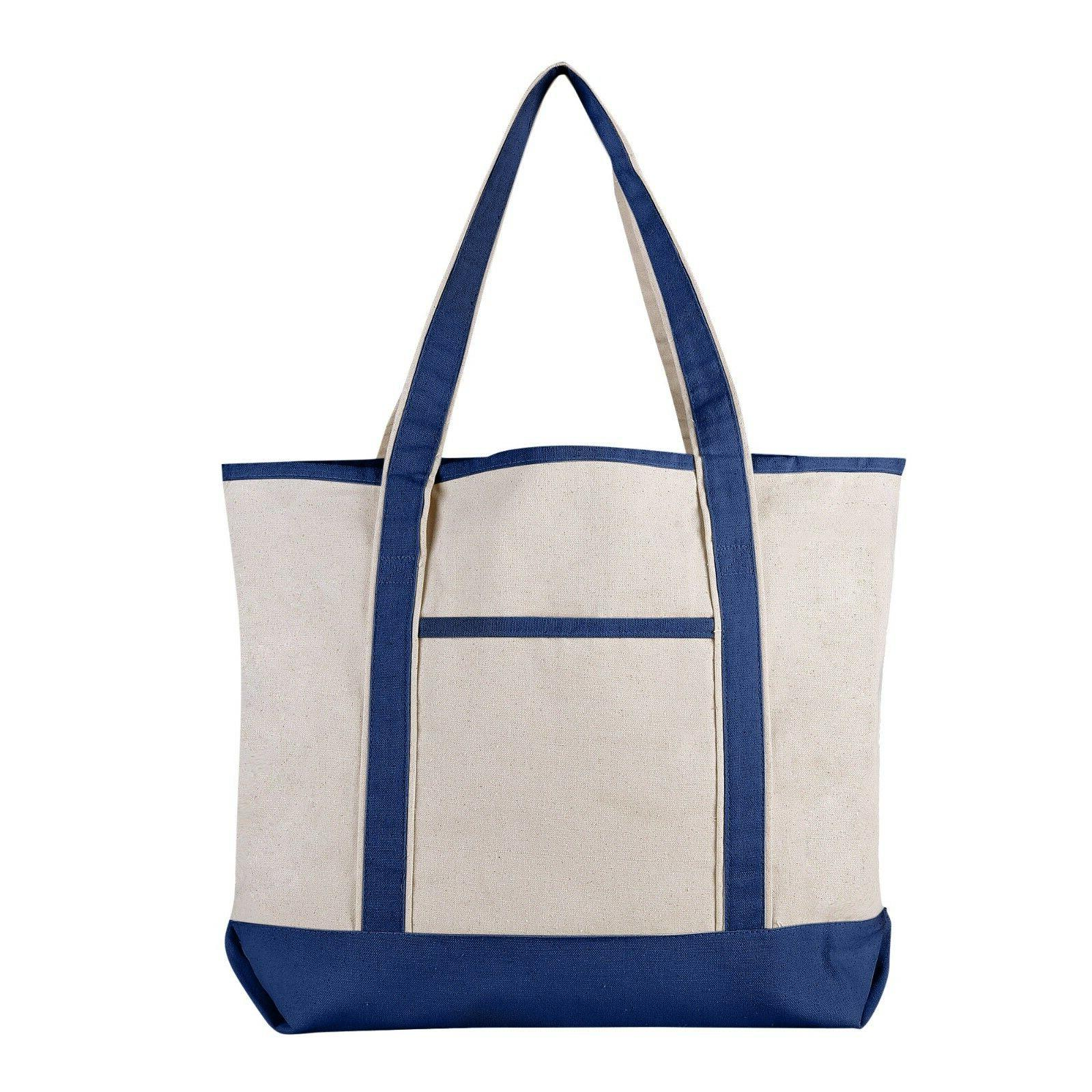 Extra Large Canvas Tote for Work