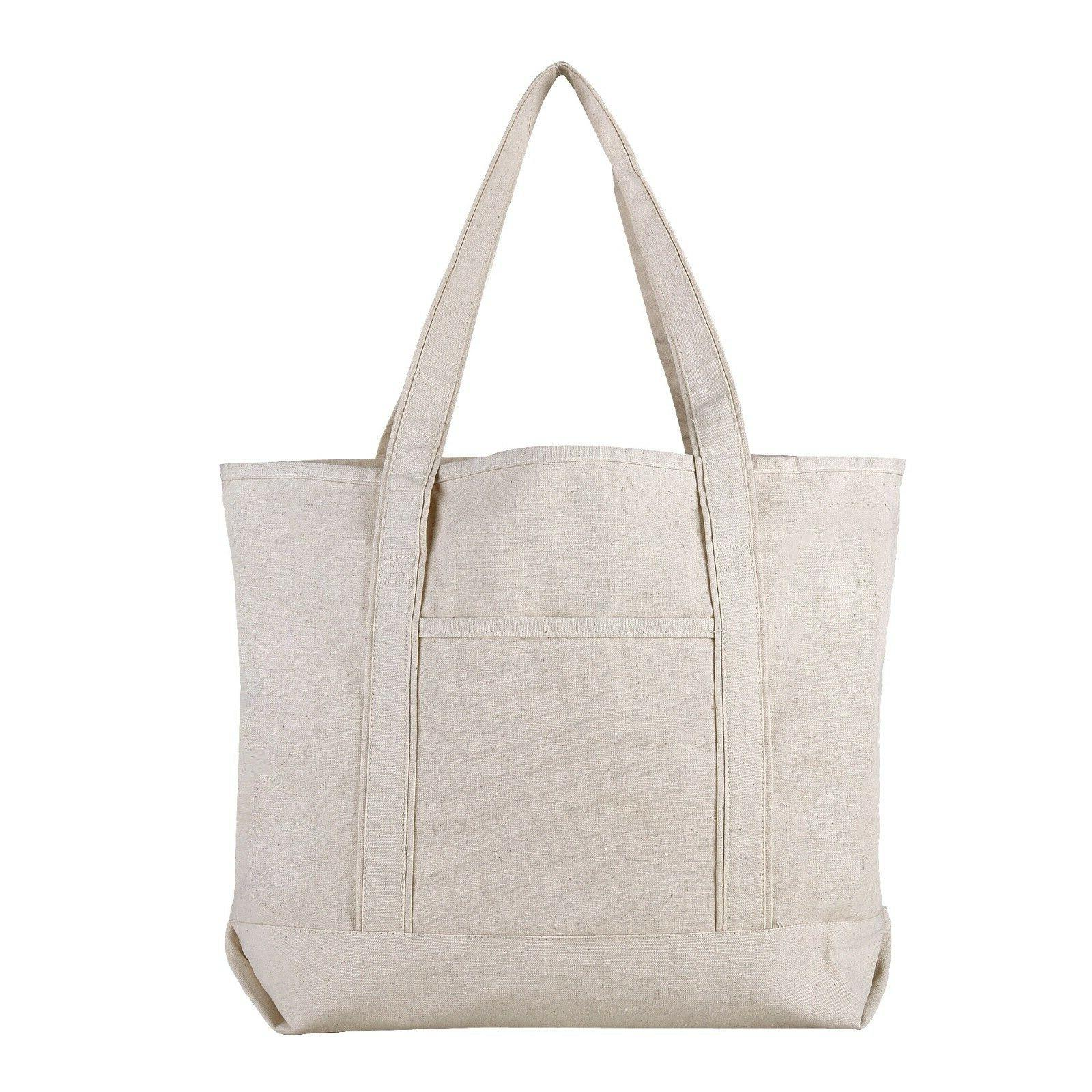 Extra Sturdy Canvas Tote for Work