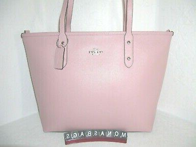 Coach Zip Tote Bag Pink $298