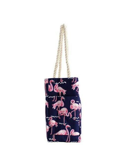 NGIL Flamingo Party Handle Travel FREE SHIPPING!
