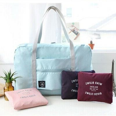 Foldable Luggage Storage Bag Waterproof Pouch Tote Call