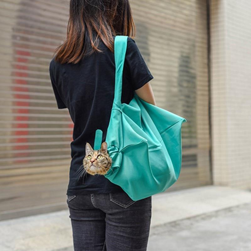 Foldable Bag <font><b>Outdoor</b></font> Pouch Mesh Single Sling Comfort