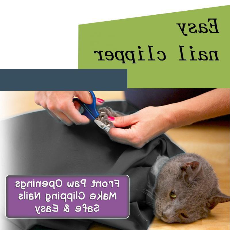 Foldable <font><b>Cat</b></font> Mesh Sling Tote Shoulder