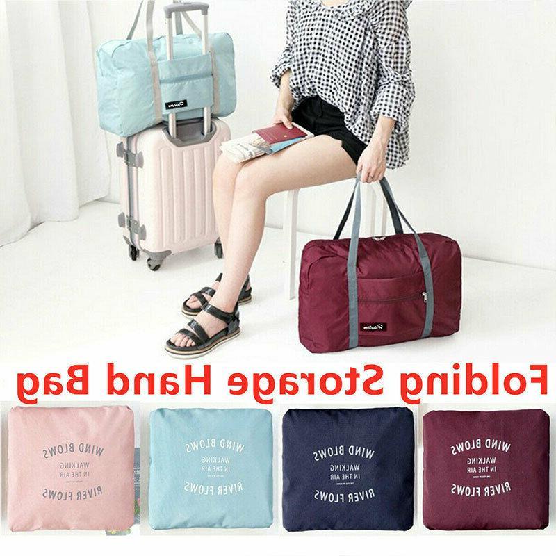 foldable large duffel bag luggage storage bag