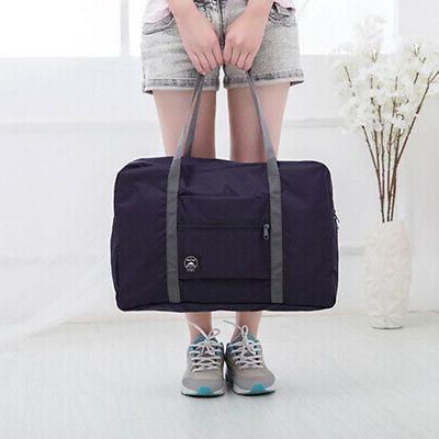 Travel Foldable Large Duffel Bag Pouch Tote Bag Grace