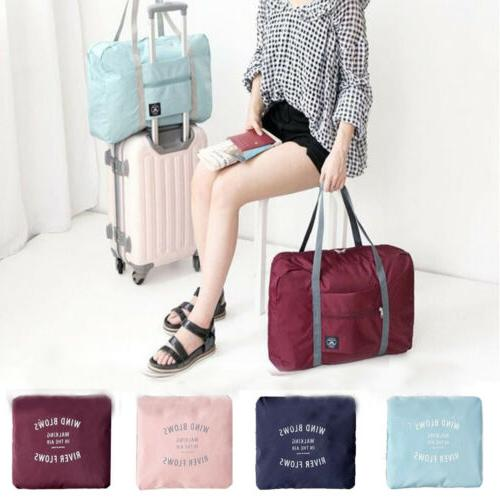 Foldable Large Duffel Bag Luggage Pouch Tote Bag