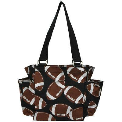 Football Small Caddy Tote