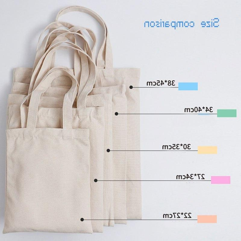 GAWBE Unisex Canvas <font><b>Bag</b></font> Text Daily Use Reusable Travel Casual