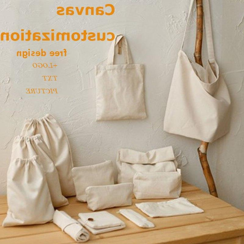 GAWBE Unisex Canvas Print Text Your Grocery Daily Reusable Travel Casual Shopping <font><b>Bag</b></font>