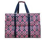 Geometric Themed Prints NGIL Mega Shopping Utility Tote Bag