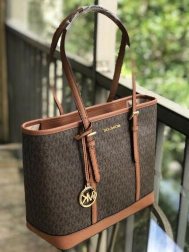 Michael Women Tote Bag Brown