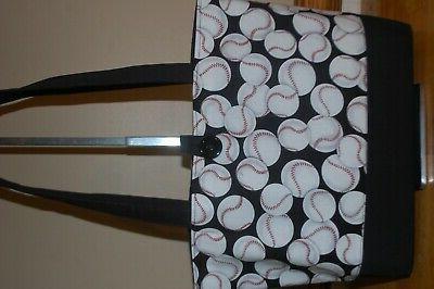 Handmade Trimed Black Handbag Purse Tote Bag Bag