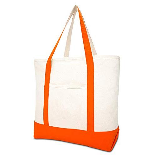 """DALIX 22"""" Canvas Tote Grocery"""