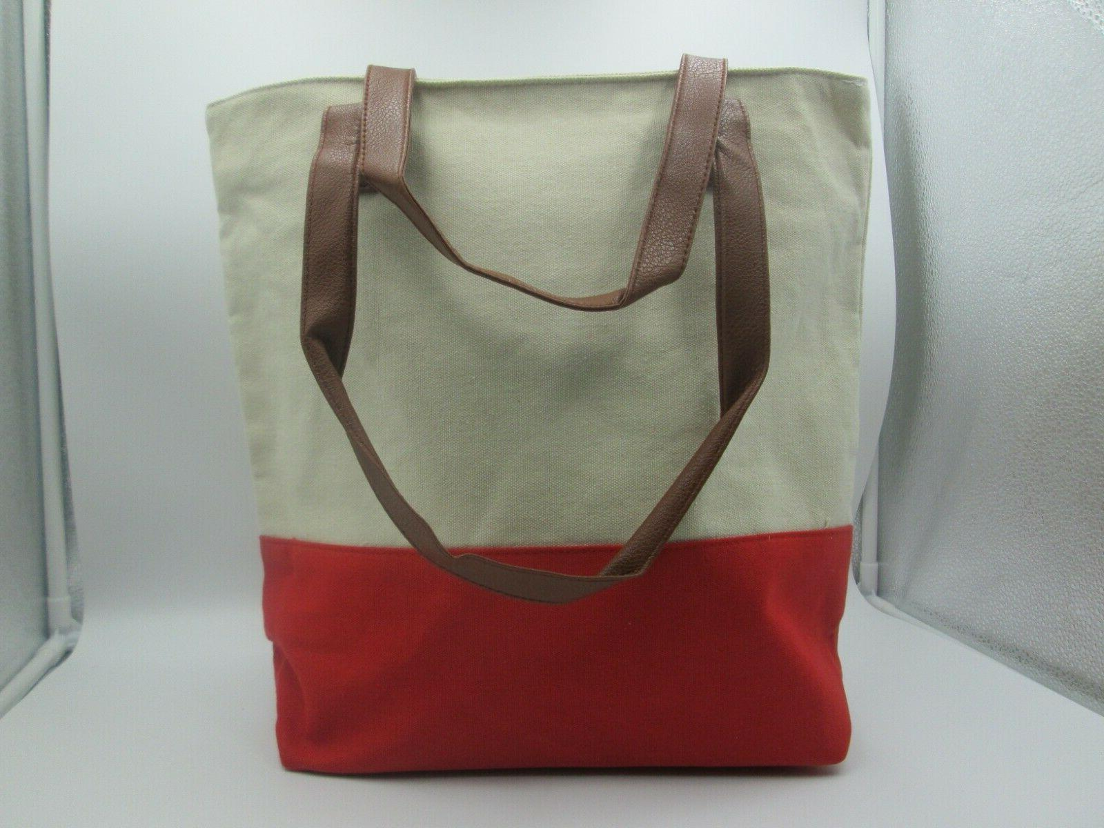 Durable Canvas Tote Washable Shopping