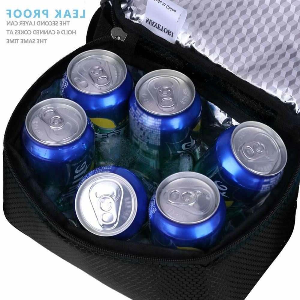 Insulated Lunch Tote Hot Cold Cooler