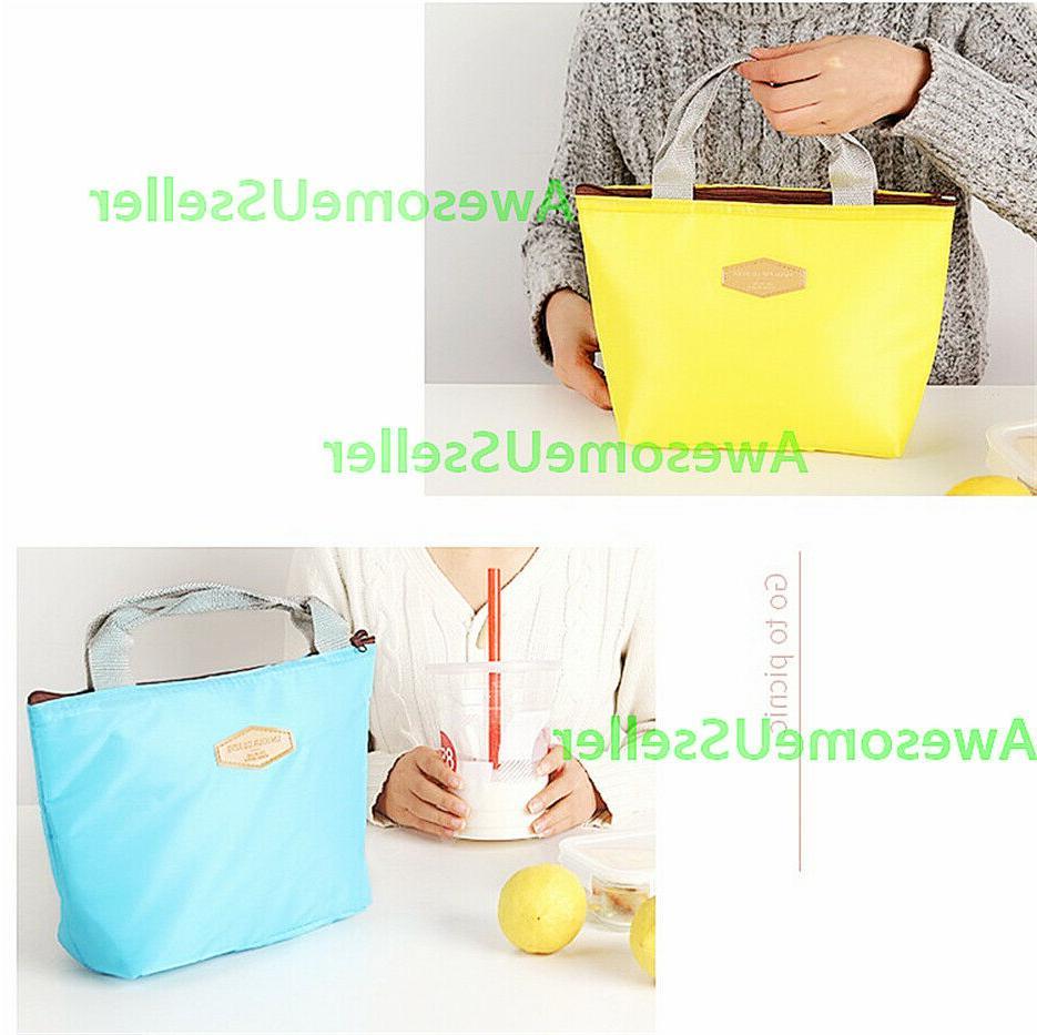Insulated Bag Cooler Picnic Travel Women Handbags