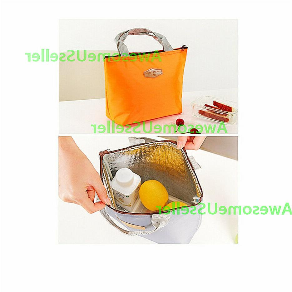 Insulated Lunch Picnic Food Box Women Tote Handbags