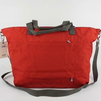 KIPLING Nylon Carryall Tote Bag Cherry Bold