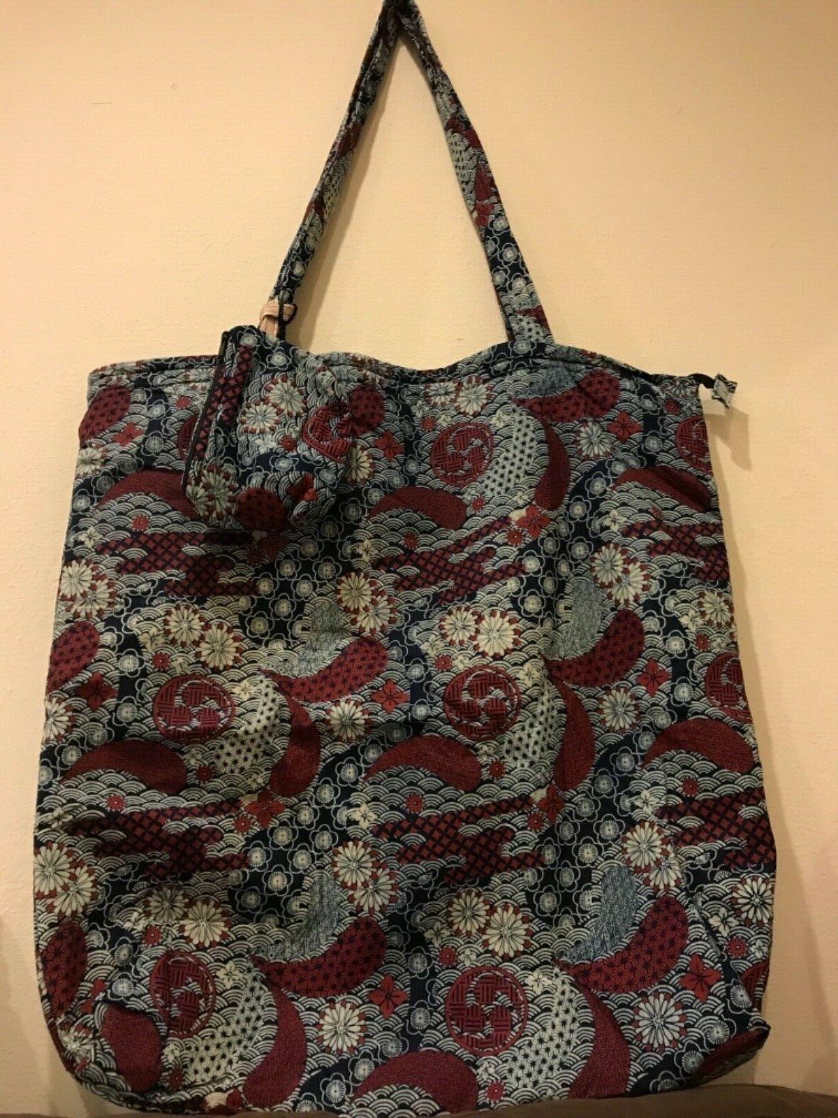2 fish xxl tote bag w storage
