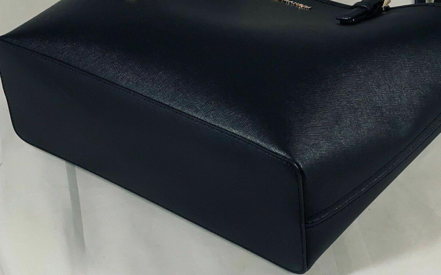 Michael Jet Set Travel Medium Saffiano Leather Carryall