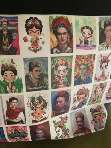 Frida Kahlo Bag With Bonus Loteria Bag - Beautiful!