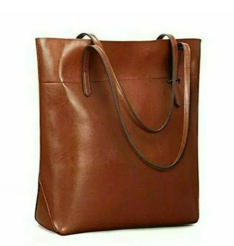 Kattee Vintage Genuine Leather Tote