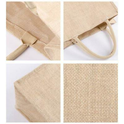 Kitchen Reusable Natural Jute Tote Bag