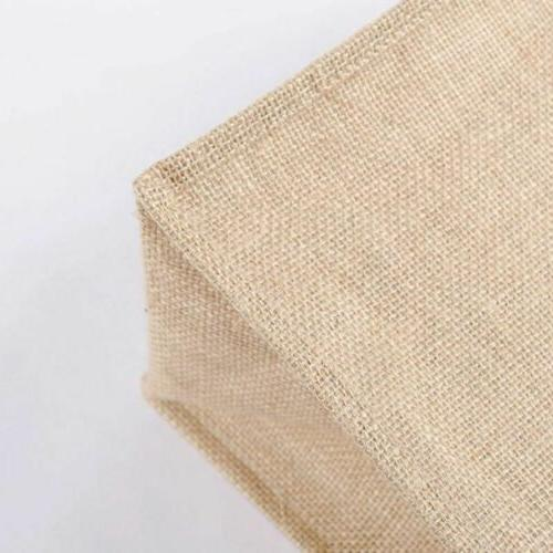 Kitchen Reusable Natural Burlap Jute Bags Shopping