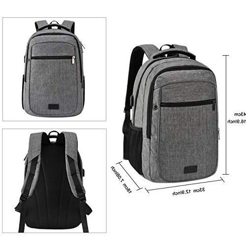 School Backpack,Fit 15.6 Laptop Backpack Backpack USB