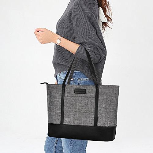 Inch Laptop,Womens Water Resistant Tote Shoulder Bag