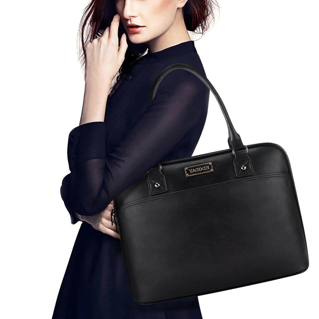 Laptop Bag,EDODAY Inch Women Shoulder Laptop Case fo