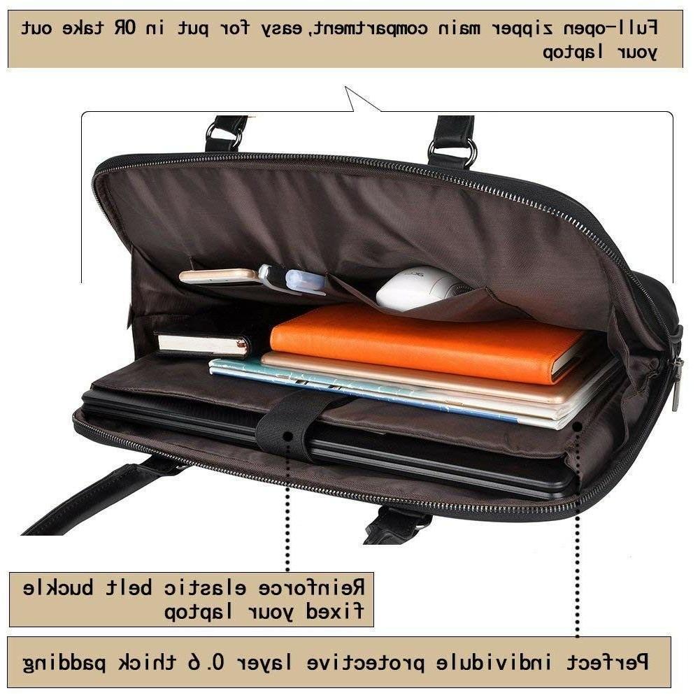 Laptop Tote Bag,EDODAY Inch Computer Shoulder Laptop Case fo