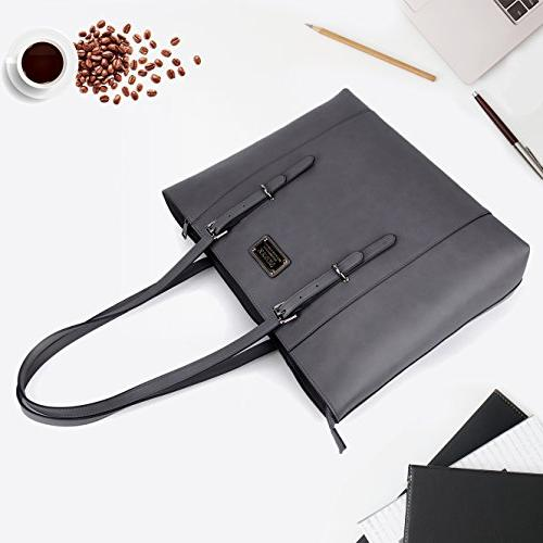 ZYSUN Tote Bag,15.6 in PU